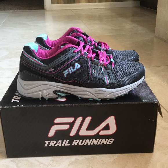 55817af4b713 Fila Shoes - Fila women s athletic shoe trail running shoe